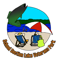 School Section Lake Veterans Park logo